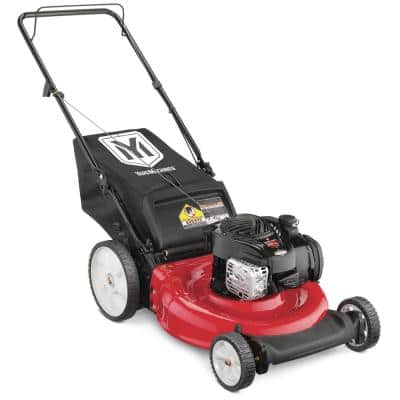 21 in. 140 cc OHV Briggs and Stratton Walk Behind Gas Push Mower