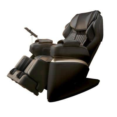 Kurodo Black Commercial Grade Synthetic Leather Executive Level Commercial Massage Chair