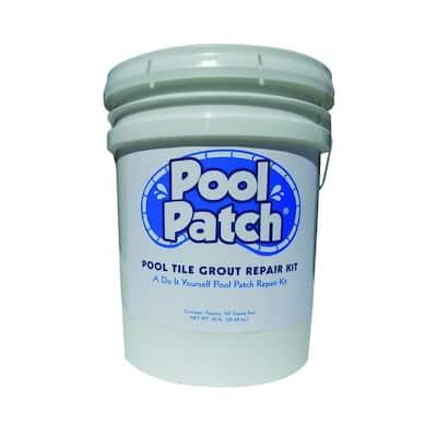 50 lb. White Pool Tile Grout Repair Kit