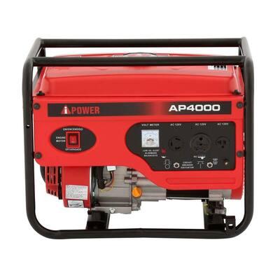 3000-Watt Gasoline Powered Portable Generator