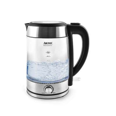 7-Cup Stainless Steel Electric Kettle