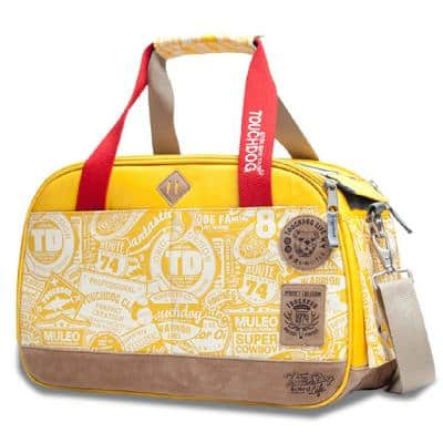 Yellow Airline Approved Around-The-Globe Passport Designer Pet Carrier