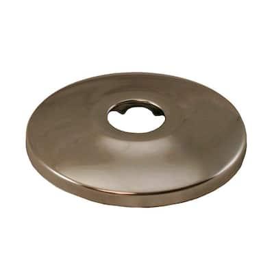 2-1/2 in. O.D. Low Pattern Escutcheon for 1/2 in. Copper Tubing in Pearl Nickel