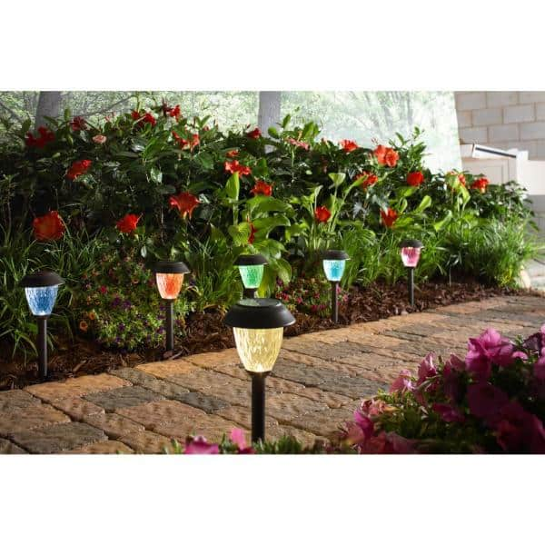 Outdoor LED Light Solar Power Insect Path Landscape Garden Home Decor Lamp *