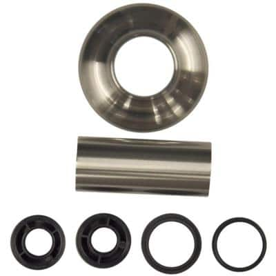3 in. O.D. x 1-1/4 in. I.D. Tub/Shower Escutcheon and Flange Assembly Set in Brushed Nickel