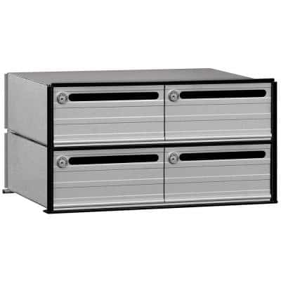 2400 Series Data Distribution System Aluminum Box with 4 Doors