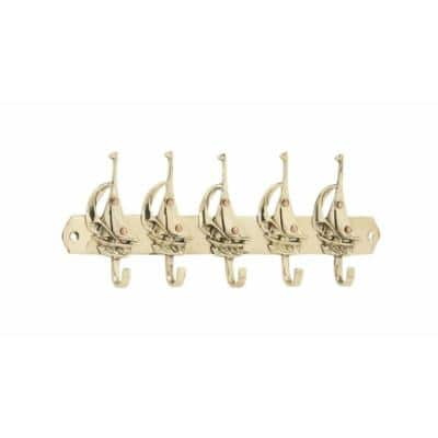 10 in. L Brass Timeless Boat Hook