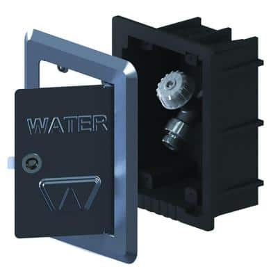 1/2 in. x FPT Mild Climate Modular Wall Box Hydrant with a 50 HF Double-Check Backflow Preventer