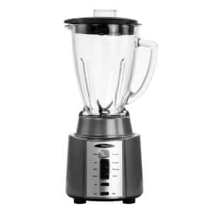 48 oz. 8-Speed Gray Blender with Pulse Control