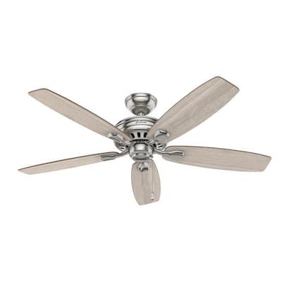 Stratford 52 in. Indoor Brushed Nickel Ceiling Fan