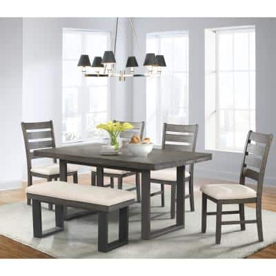 Bench Seating Dining Room Sets Kitchen Dining Room Furniture The Home Depot