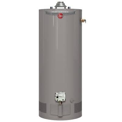 Performance 40 Gal. Short 6 Year 34,000 BTU Natural Gas Tank Water Heater
