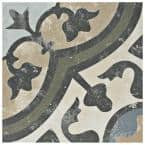 Arte Evoque Carthusian 9-3/4 in. x 9-3/4 in. Porcelain Floor and Wall Tile