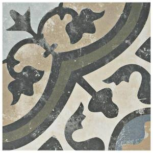 Arte Evoque Carthusian 9-3/4 in. x 9-3/4 in. Porcelain Floor and Wall Tile (11.11 sq. ft. / Case)