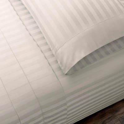500 Thread Count Egyptian Cotton Damask Sateen Deep Pocket Sheet Set