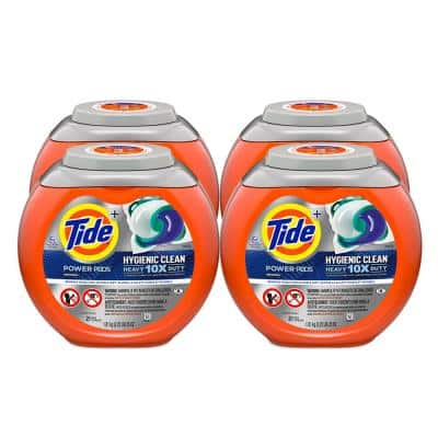 Power Pods Hygienic Clean Heavy Duty Laundry Detergent (21-Count) (4-Pack)