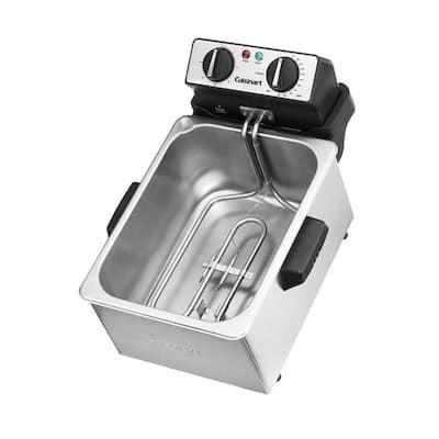 4 Qt. Stainless Steel Deep Fryer