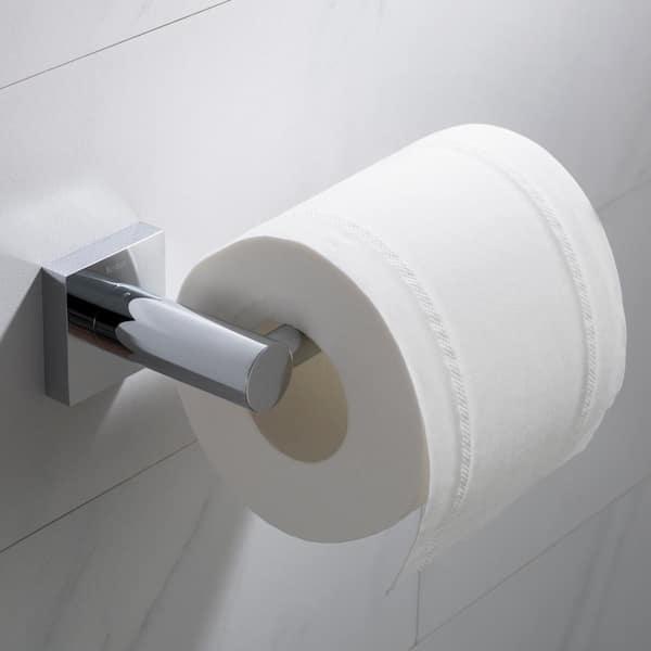 Kraus Ventus Bathroom Toilet Paper Holder In Chrome Kea 17729ch The Home Depot