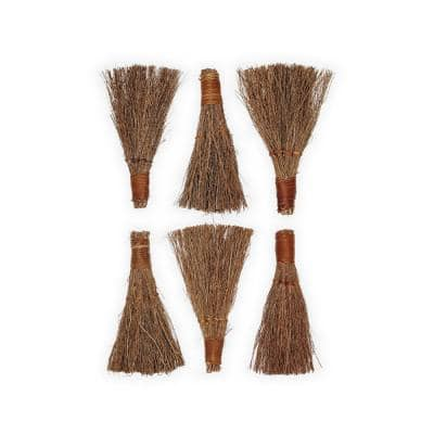 6 in. Apple Splendor Scented Broom (6-Pack)