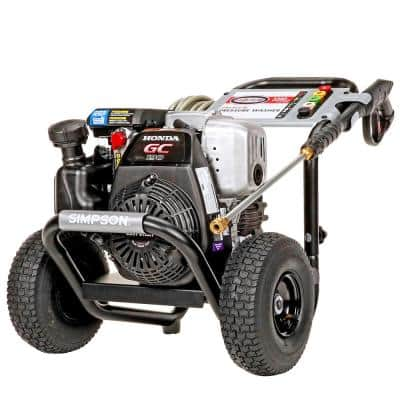 MegaShot MSH3125 -S 3200 PSI at 2.5 GPM HONDA GC190 Cold Water Pressure Washer (49-State)