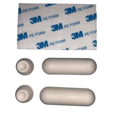 Universal Replacement Toilet Seat Bumpers
