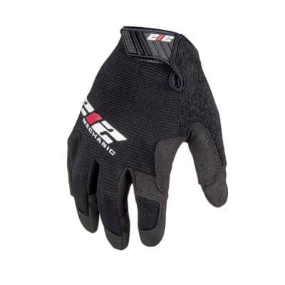 General Utility Mechanic Work Gloves, Black