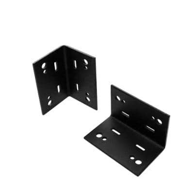 5 in. 90° Angle Flush Inside Galvanized Metal Structural Wood to Wood Support Connector (2 Per Box)