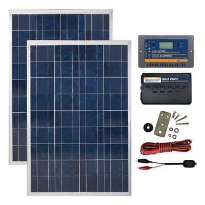 200-Watt Polycrystalline Solar Panel Kit