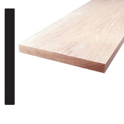 Oak S4S Board (Common: 1 in. x 8 in. x 96 in.; Actual: 0.75 in. x 7.25 in. x 96 in.)