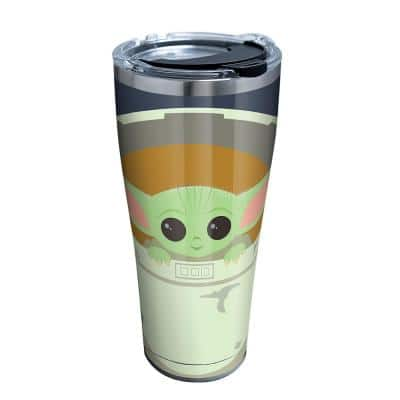 LFLM SW Mandalorian Carrier 30 oz. Stainless Steel Travel Mugs Tumbler with Lid
