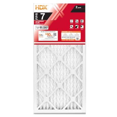 14 x 24 x 1 Allergen Plus Pleated Air Filter FPR 7 (2-Pack)