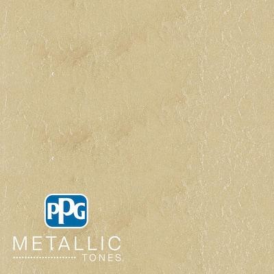 1 gal. #MTL131 Iridescent Oyster Metallic Interior Specialty Finish Paint