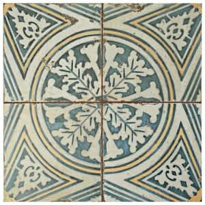 Kings Flatlands Encaustic 17-5/8 in. x 17-5/8 in. Ceramic Floor and Wall Tile (11.02 sq. ft./Case)