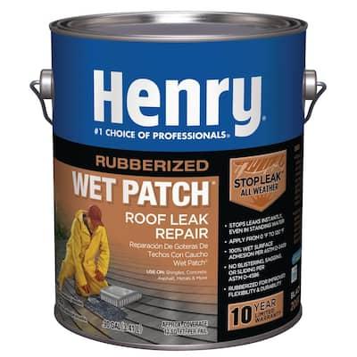 208R Rubberized Wet Patch Roof Cement Leak Repair - 0.90 Gallon