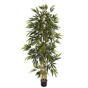 6 ft. Indoor Artificial Bamboo Tree