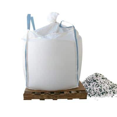 1000 lbs. Skidded Supersack of Calcium Chloride pellets with Traction Granules