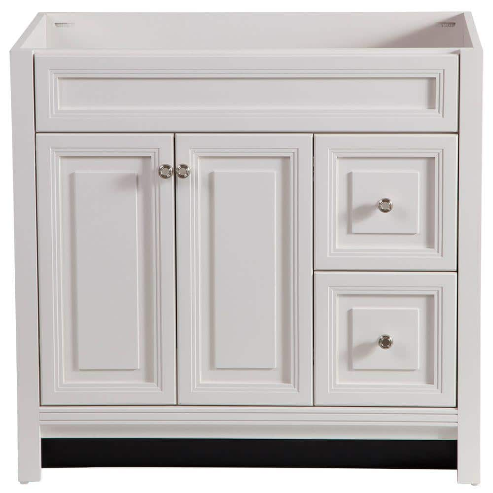 Home Decorators Collection Brinkhill 36 In W X 34 In H X 22 In D Bath Vanity Cabinet Only In Cream Bwsd3621 Cr The Home Depot