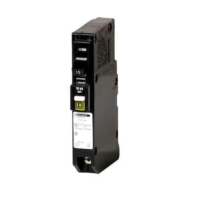 QO 15 Amp Single-Pole Plug-On Neutral Combination Arc Fault Circuit Breaker (9-pack)