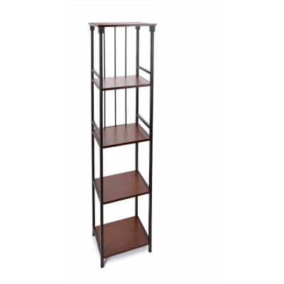 Oil Rubbed Bronze Bathroom Shelves Cabinets Storage The Home Depot