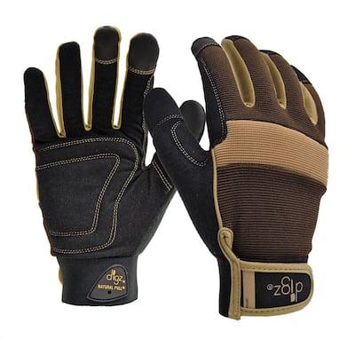 Gardener's Men's Large Fabric Gloves