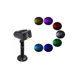 7 Color Lights-LEDMALL Full Spectrum Motion Star Effects 7 Color WHITE Laser Christmas Lights
