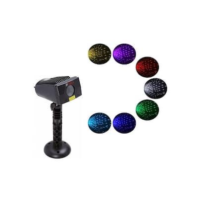 7 Color Lights-LEDMALL Full Spectrum Motion Star Effects 7 Color WHITE Laser Christmas Lights