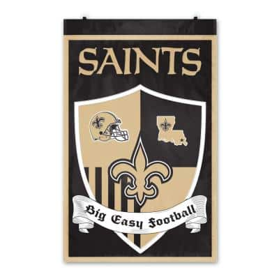 New Orleans Saints Shield Wall Tapestry