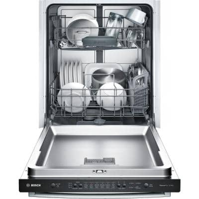 Ascenta 24 in. Stainless Steel Series Top Control Tall Tub Dishwasher with Hybrid Stainless Steel Tub, 50dBA