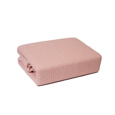 Marquis Rose Cotton Full/Queen Blanket