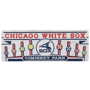 Chicago White Sox MDF Wood Wall Art
