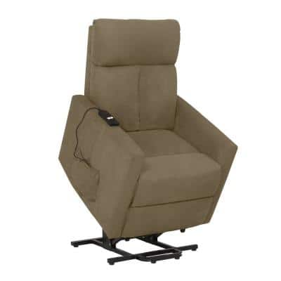 ProLounger Sage Gray Microfiber Power Lift Chair Recliner