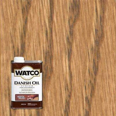 1 pt. Medium Walnut Danish Oil (4-Pack)