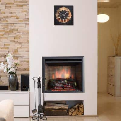 31.89 in. Ventless Electric Fireplace Insert
