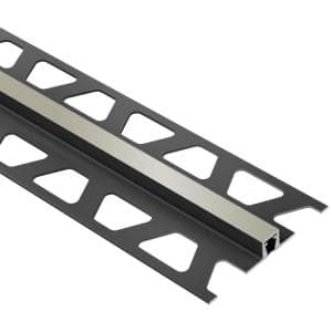 Dilex-BWB Grey 1/4 in. x 8 ft. 2-1/2 in. PVC Movement Joint Tile Edging Trim
